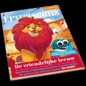 tijdschrift 4 - De vriendelijke leeuw