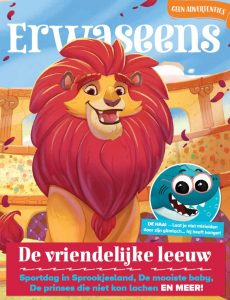 ERWASEENS 04 - De vriendelijke leeuw